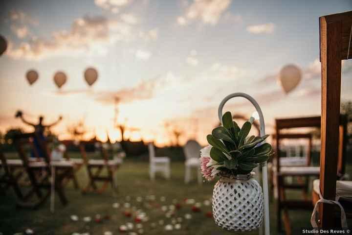 5 Ideas de decoración para un casamiento al aire libre - 1