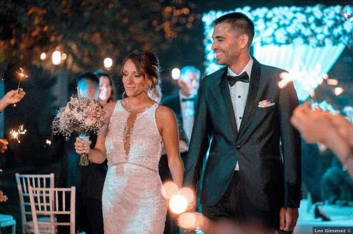 Clásico y elegante, así fue el casamiento de Gastón y Ale 😍 - 3