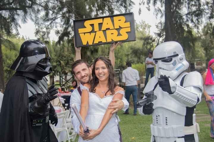 Casamiento temático de Star Wars: ¡CLICK ACÁ! - 1