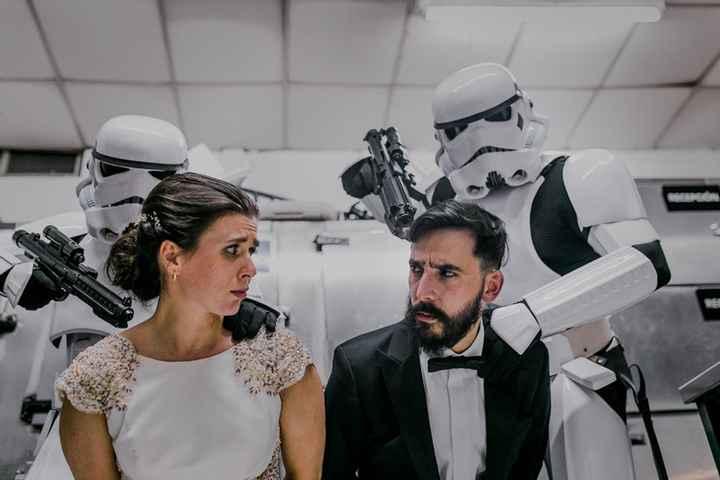 Casamiento temático de Star Wars: ¡CLICK ACÁ! - 2