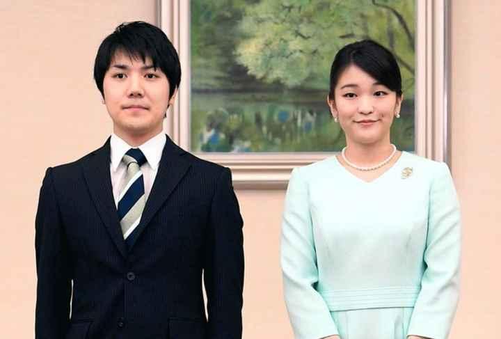 """¿Renunciarías a ciertos privilegios por amor? Mirá la historia de la princesa Mako y su novio """"plebe"""
