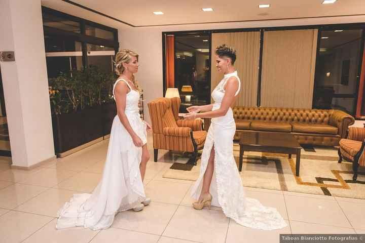 Casamiento de dos chicas: ¿qué look te gusta más? - 2