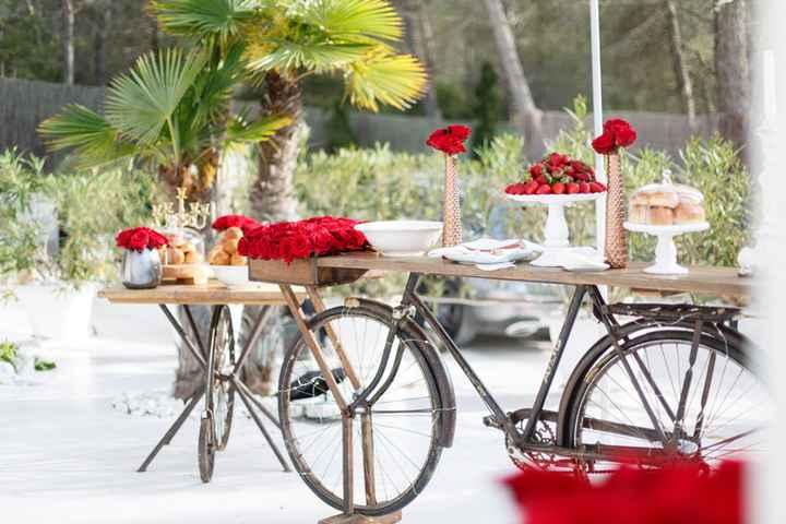 Bicicletas: la nueva tendencia en deco nupcial ...¿Cuál? - 3