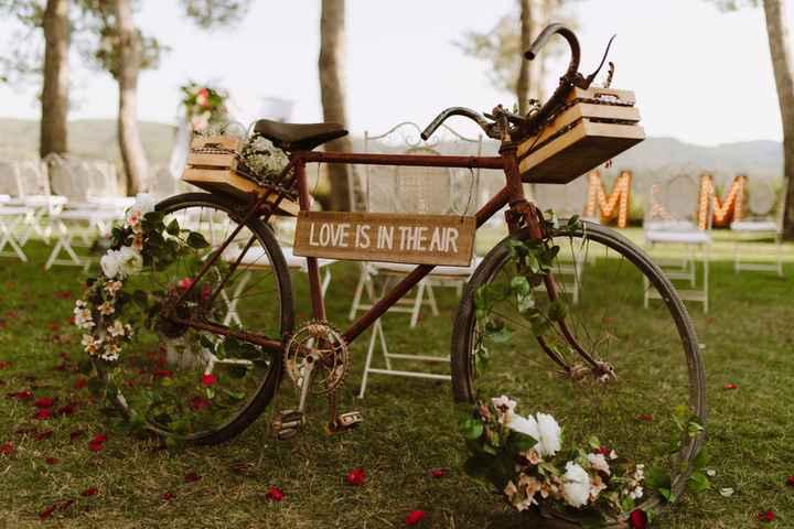 Bicicletas: la nueva tendencia en deco nupcial ...¿Cuál? - 5