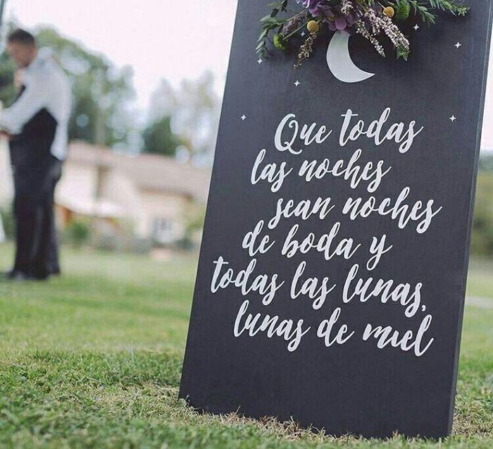 ¡Bienvenidos a nuestro casamiento...! ¡Frases para carteles!🤗 2