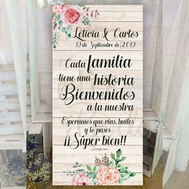 ¡Bienvenidos a nuestro casamiento...! ¡Frases para carteles!🤗 6