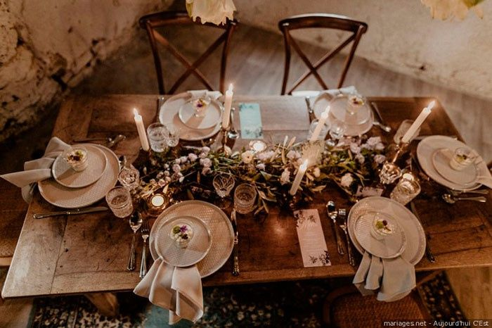 ¡Me enamora este tipo de mesa! 1