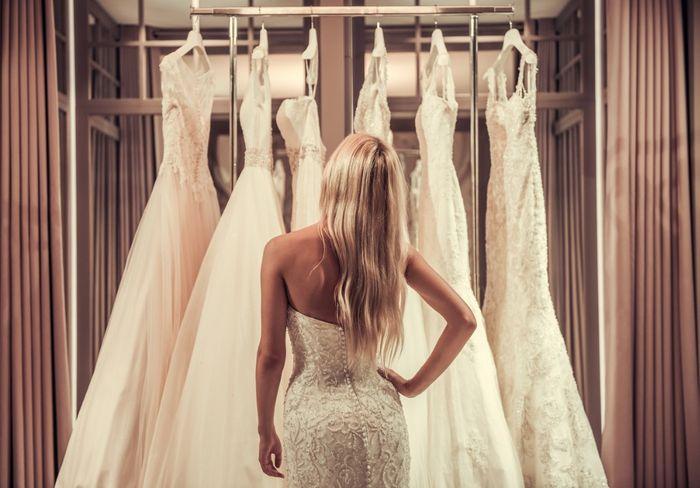 ¿En dónde compraste tu vestido de novia? 1