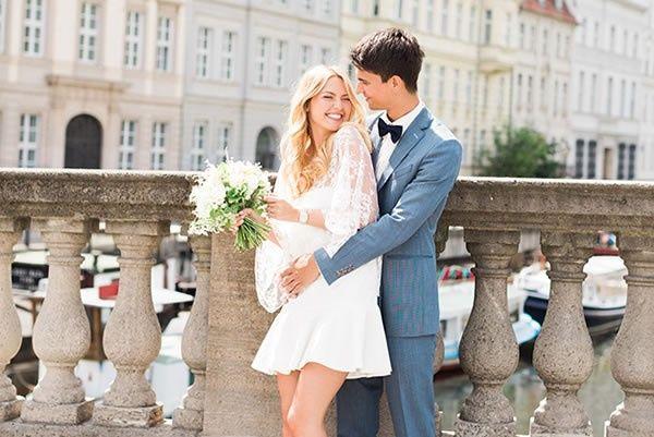 ¡La entrada del casamiento por el civil! 1