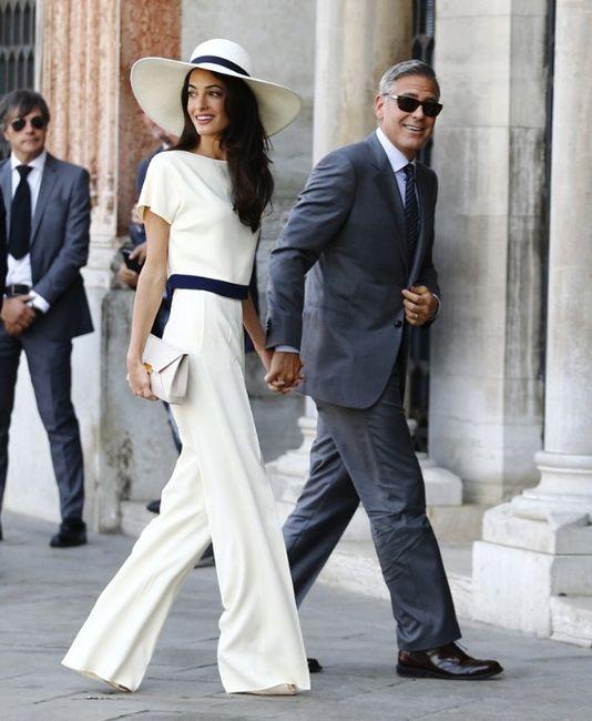 ¡Look para el civil del novio y la novia! 3