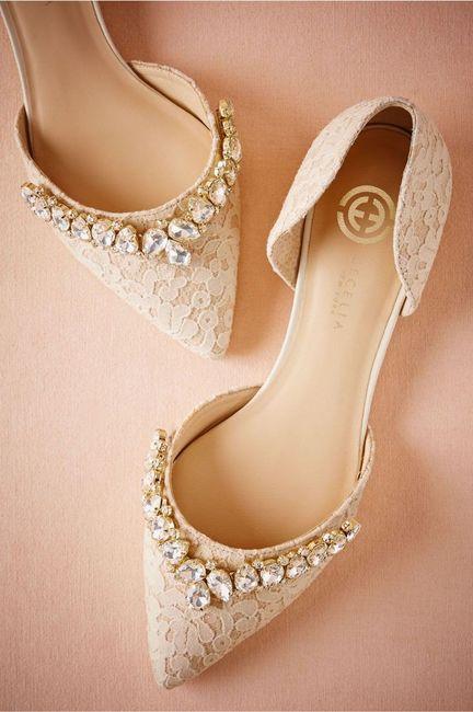 ¿Qué par de zapatos elegirías para tu gran día? 2