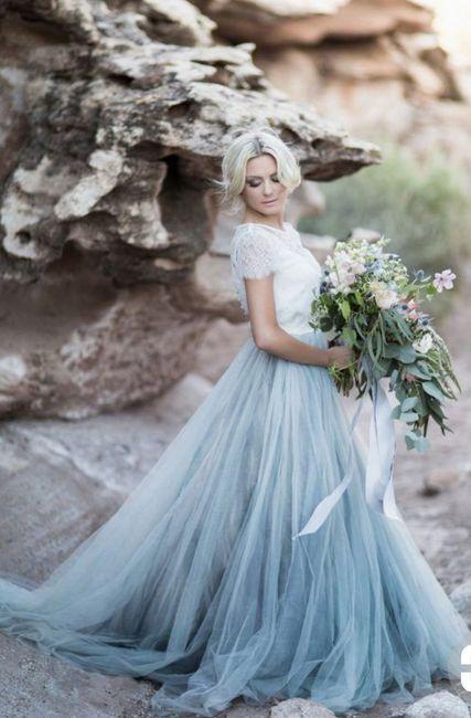 El color de mi vestido ideal es _____ 3