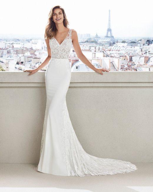 La tela de mi vestido ideal es _____ 3