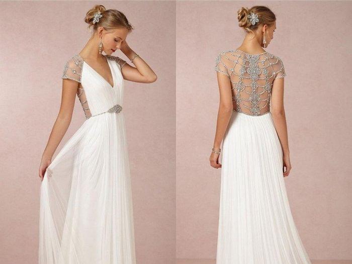 El detalle de mi vestido ideal es _____ 1
