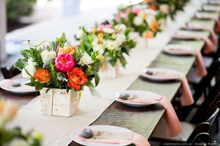 Pensá Rápido: tus centros de mesa ¿Bajos o Altos? 1