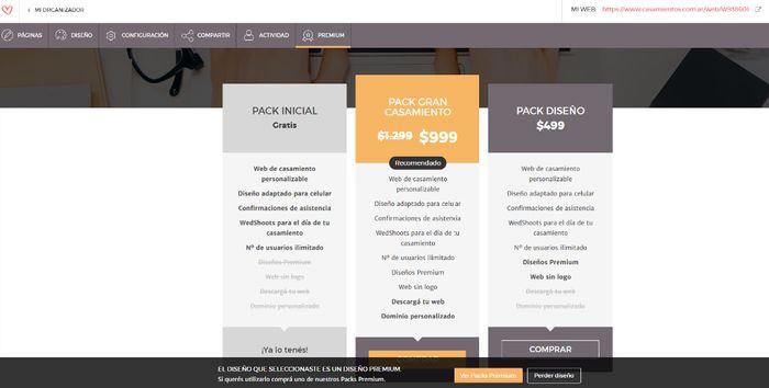 ¿Sabías que podés tener tu Web de Casamiento Premium? 2