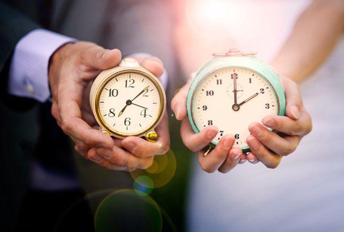 TOP 1: ¿Cuánto tiempo falta para tu casamiento? 1