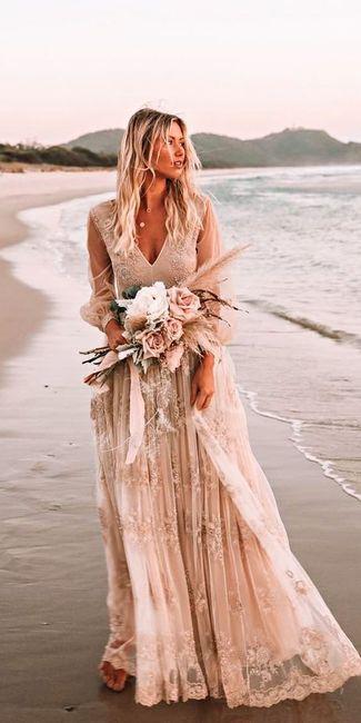 6 Vestidos de novia Rosa Gold...¿Cuál en el tuyo? 1