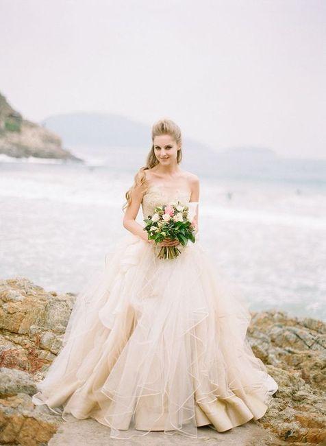 6 Vestidos de novia Rosa Gold...¿Cuál en el tuyo? 2