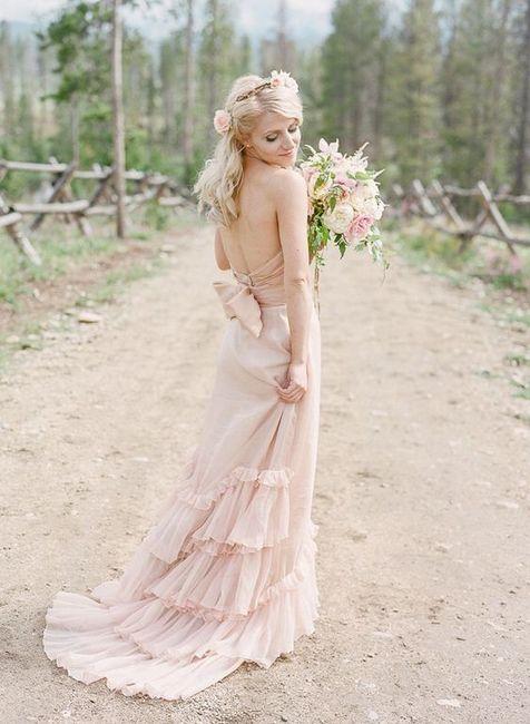 6 Vestidos de novia Rosa Gold...¿Cuál en el tuyo? 3
