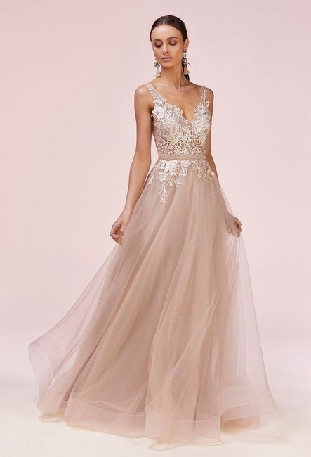 6 Vestidos de novia Rosa Gold...¿Cuál en el tuyo? 4