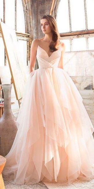 6 Vestidos de novia Rosa Gold...¿Cuál en el tuyo? 6