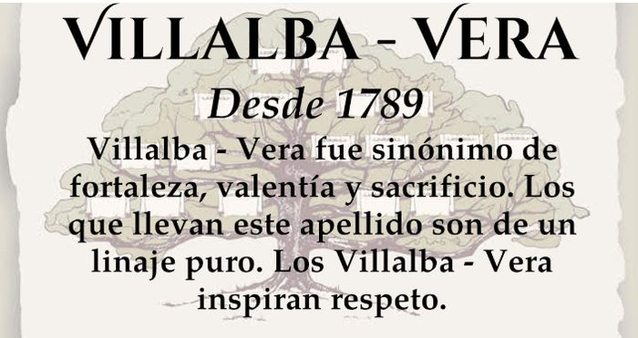 Seremos la familia Villalba - Vera 2