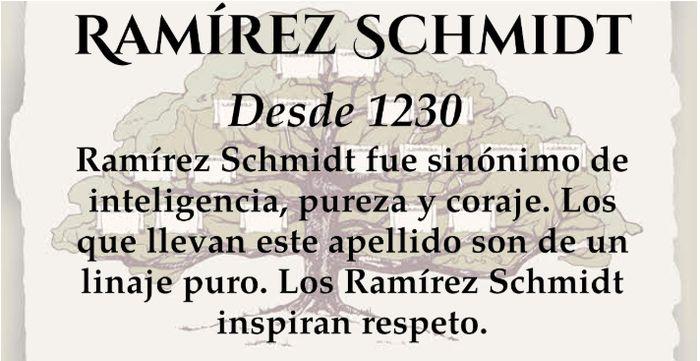 Somos la familia Ramírez Schmidt 2