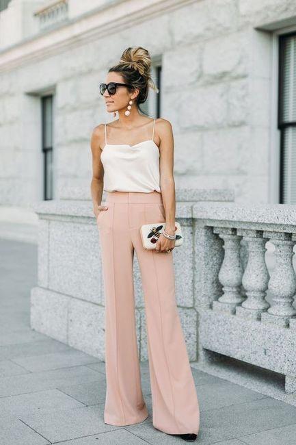 El Look: ¿Vestido o pantalón? 2