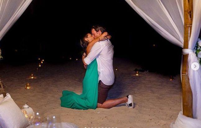 La romántica pedida de casamiento que vivió Pampita!! ❤️ 1