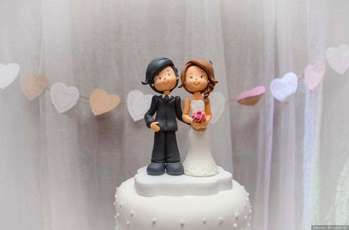 El CAKE TOPPER __ , me emociona más! 1