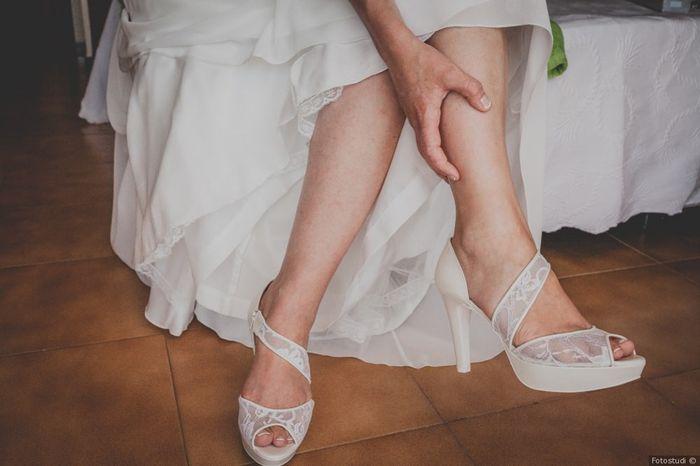 ¿Qué zapatos de boda elegiste? ¿Tips? 1