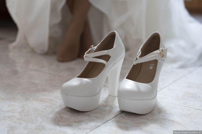 ¡Me caso en 3 meses o menos! 👉 Los Zapatos 1