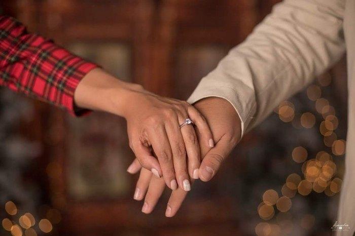 ¿Tendrías esta sesión de foto pre boda navideña?❤🎄️ 3