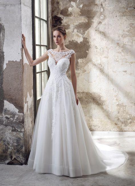 ¡Elegí el vestido de novia según tus curvas! 2