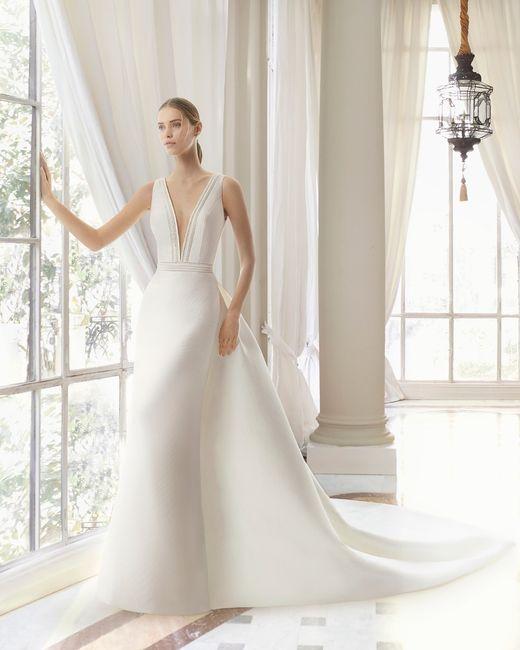 ¡Elegí el vestido de novia según tus curvas! 3