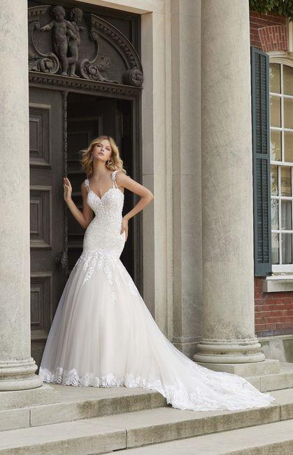 ¡Elegí el vestido de novia según tus curvas! 4