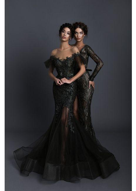 Vestidos de novia NEGROS de Tarik Ediz 🖤 6