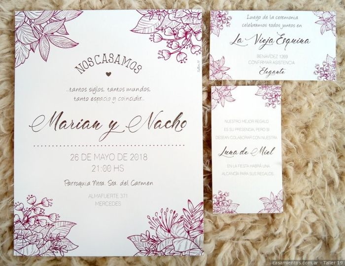 Si hoy me casara lo haría con...¡Estas invitaciones! 3