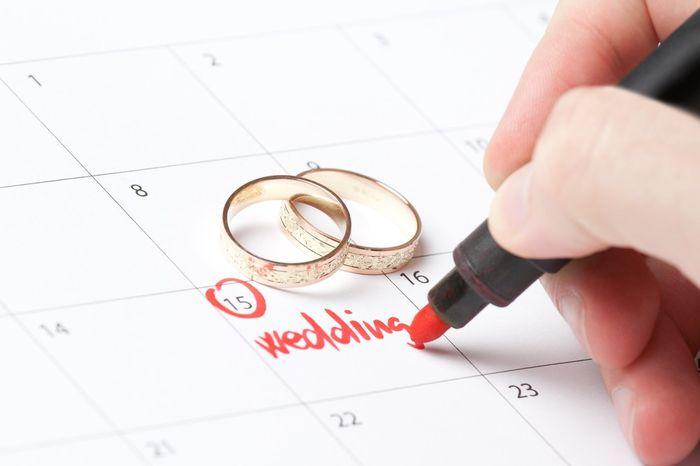 Mi contador marca ___ días para mi matrimonio 1