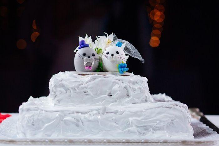 ¡A este cake topper le doy un ❤️! 3