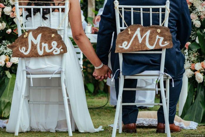 Decime qué tipo de ceremonia van a tener... 1