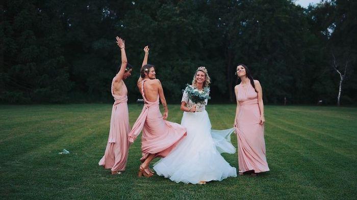 Damas de honor: ¿Re novia o In-novia? 1