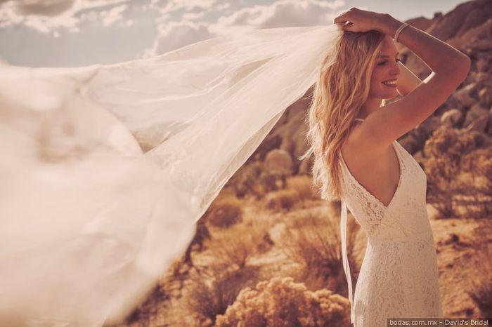 Alquilado o comprado el vestido de novia? 1