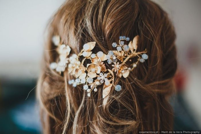 ¡Quiero este TOCADO en mi casamiento! 1