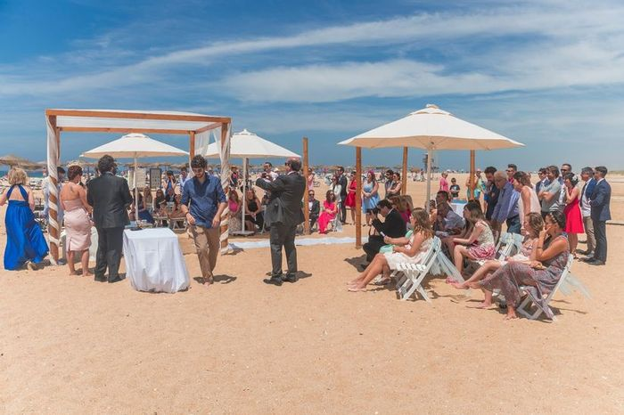 ¿Quién tuvo el sueño del casamiento en la playa? 1