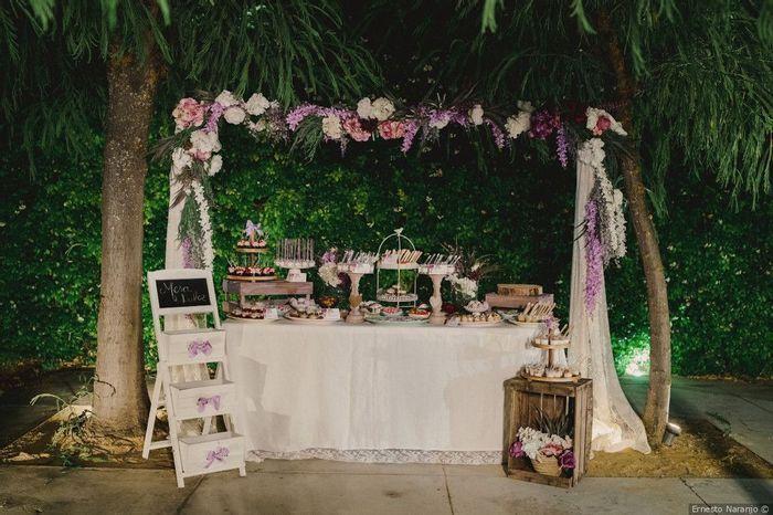 Quanto darias por esta mesa de doces? 1