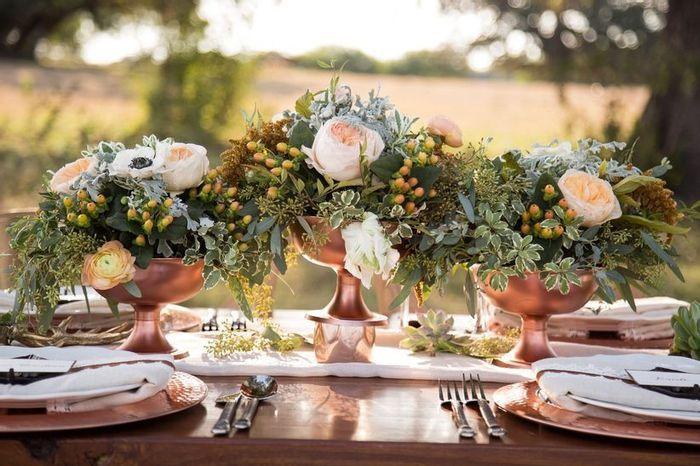 Ideas para un casamiento en Rose Gold🌺 3