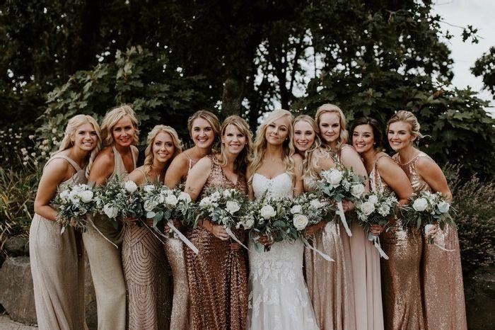 Ideas para un casamiento en Rose Gold🌺 8