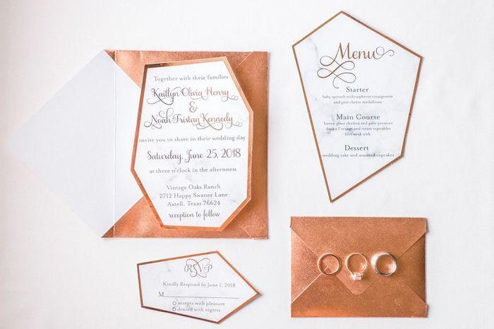 Ideas para un casamiento en Rose Gold🌺 10